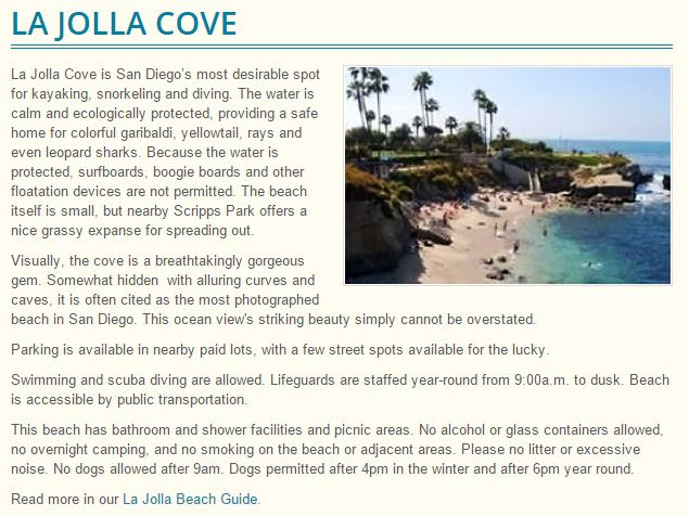 La Jolla Cove San Diego Always Half Price Mike Puckett DDM