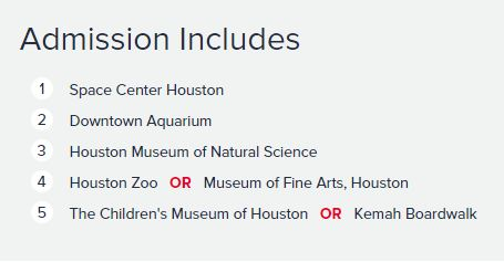 Museum of Science 2 Houston Always Half Price Mike Puckett DDM